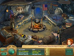 Samantha Swift and the Mystery from Atlantis game screenshot