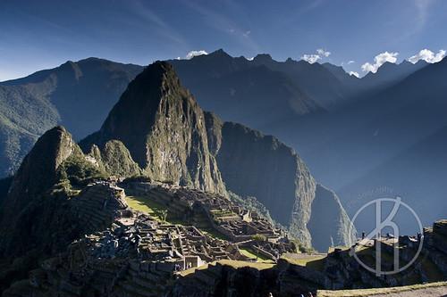 Machu Picchu - Plate I by Justin Korn