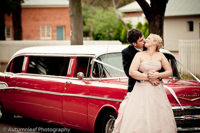 Prue & Paul's Wedding - Bridal Car