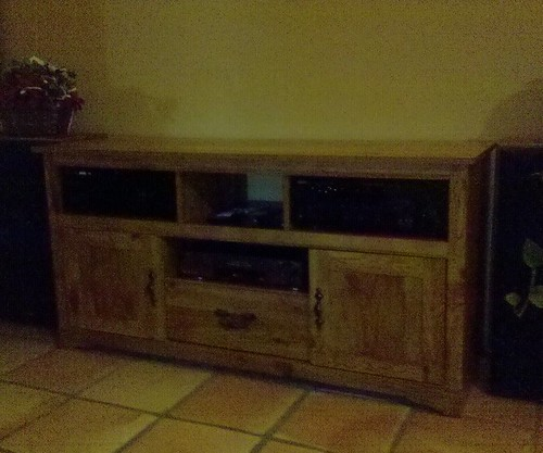 Entertainment Center ReSkinned