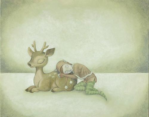 WIP 2 - Reindeer & Elf
