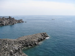 Jusangjeolli Cliffs (charr80) Tags: ocean sea cliff korea jeju jusangjeolli