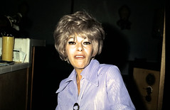 1960s photo camp campy drag queen looking woman making funny face (Christian Montone) Tags: party camp woman drag women 1960s vintageimages campy vintagephotos partyphotos socialgatherings 1960sfashions