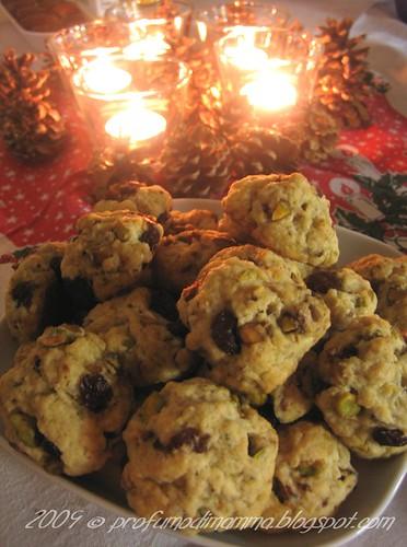 Biscotti allo zibibbo di Iana