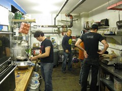Prep Kitchen with the Staff