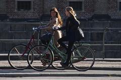 Copenhagen Morning Friends (Mikael Colville-Andersen) Tags: morning friends bike bicycle copenhagen girlfriends cyclechic velopassioncc