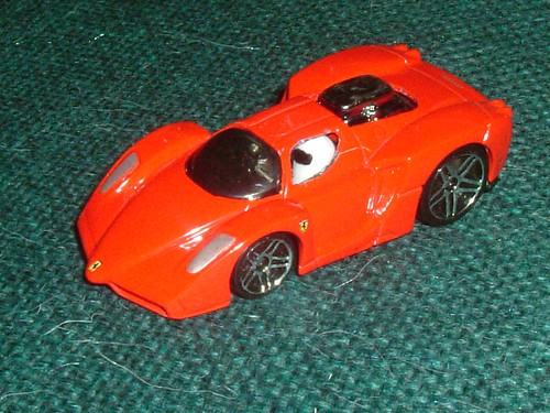Micro Stig's Enzo Ferrari - Side View