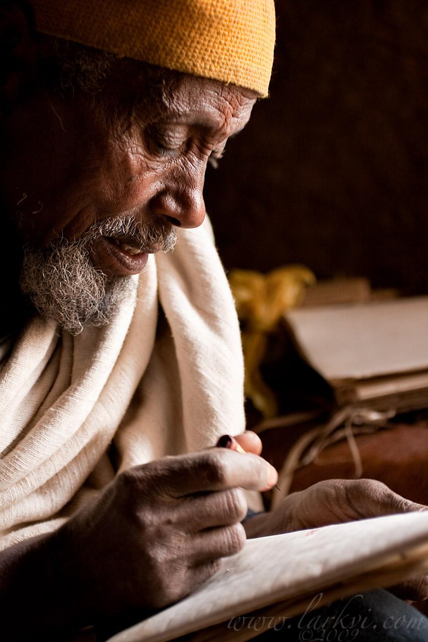 Liqa Kahunat Ajugu, Gälawdios, Amhara, Ethiopia, July 2009