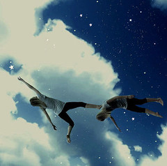 Reach for the stars so if you fall, you land on the clouds by Chantel Baggley