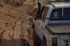 Entering the mud (Ryan_Newton) Tags: 4wd loveday