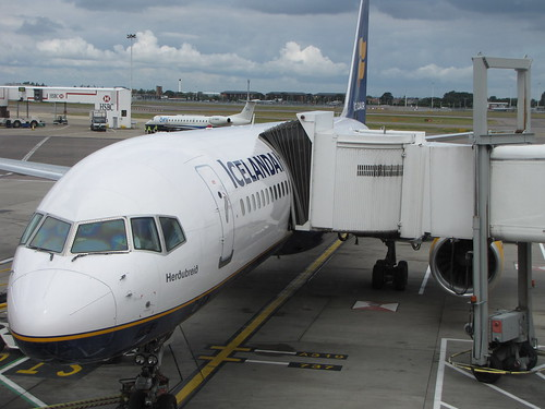 Plane to Iceland from Heathrow