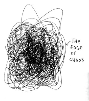 researching chaos these days. by keri