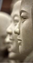face... (Maggie's World ...) Tags: art shanghai faces artistunknown sculptues loseface saveface putonface gainface truefaceis