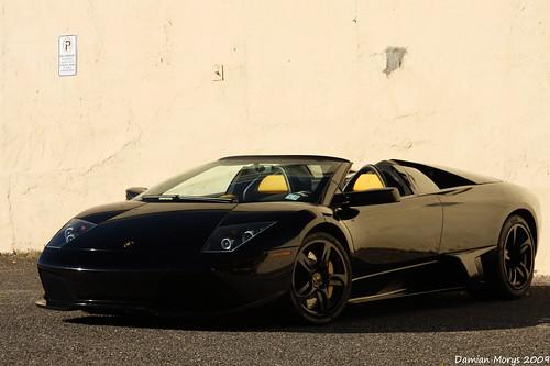 フリー画像| 自動車| スポーツカー| スーパーカー| ランボルギーニ/Lamborghini| ランボルギーニ ムルシエラゴ| Lamborghini Murcielago LP640 Roadster| イタリア車| ロゴ入り|   フリー素材|