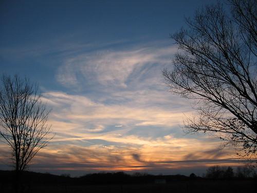 Sunset, November 2006