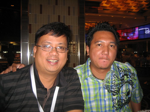 Albert Hallado and Joel Christopher