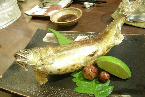 10.烤香魚
