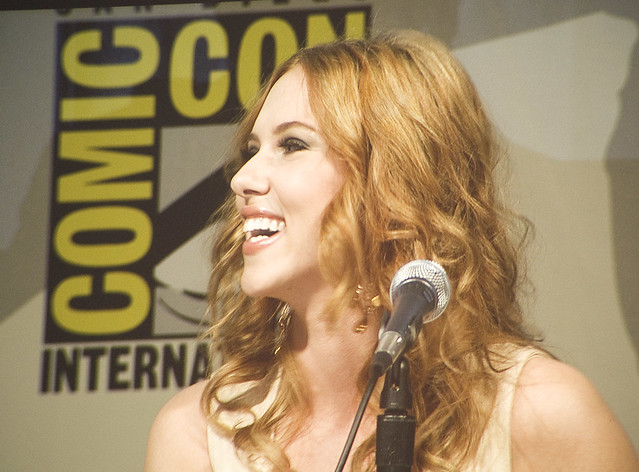 SDCC / Saturday - Iron Man Panel - Scarlett Johansson by cheese1970