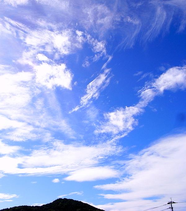 梅雨明けの青空