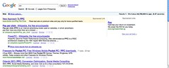 Google SERP in Firefox