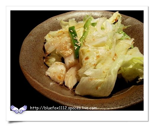 090719和樂燒肉通04_油醋醬生菜沙拉