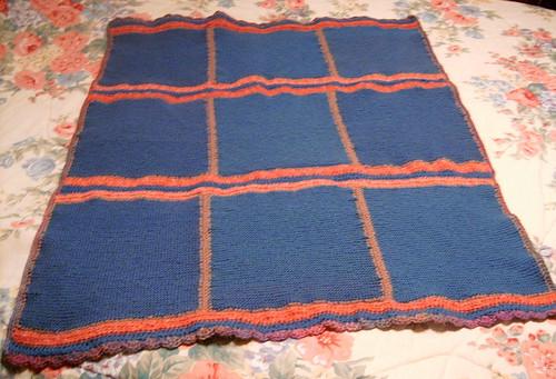 Wool Squares Blanket Complete