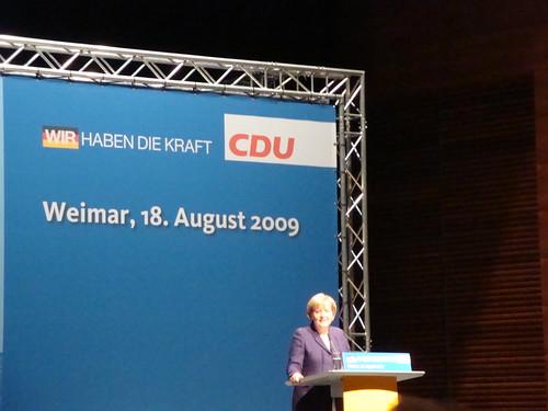 Merkel in Weimar (2)