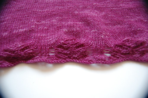 knitting notions close-up