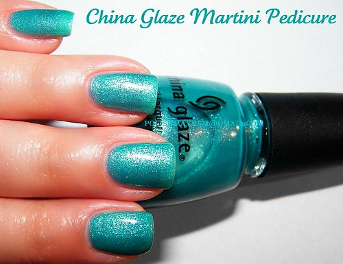China Glaze Martini Pedicure