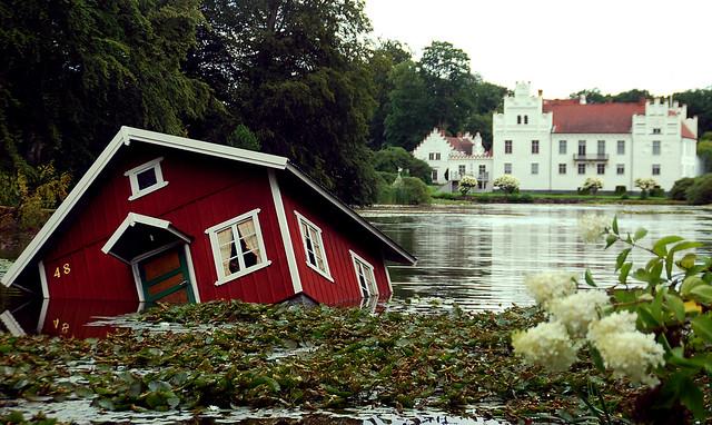 sinking house, wanås