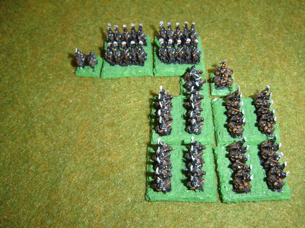 Naitoh cavalry swarm around Tokugawa