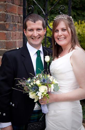 Christian & Sally's wedding day