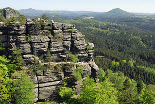 Böhmische Schweiz, České Švýcarsko, Czech Switzerland - Elbe Sandstone Mountains (Czech Republic)