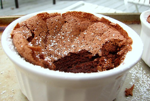 TWD Chocolate Souffle