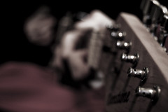 Untitled (unhh) Tags: music dark bokeh guitar