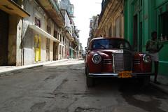 Old german car (robseye76) Tags: vacation holiday cars car mercedes havana cuba kuba wakacje oldgermancars oldgermancar