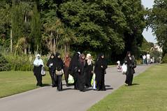 AFS-090480 (Alex Segre) Tags: uk summer england people london english wearing sunshine outside outdoors women europe european britain muslim islam headscarf group hijab sunny british females adults islamic headscarves alexsegre
