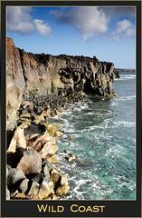 Wild Coast (lanzacan - cleaning the wall) Tags: sea costa mar rocks lanzarote rocas oceano laspalmas islascanarias yaiza riscos loshervideros