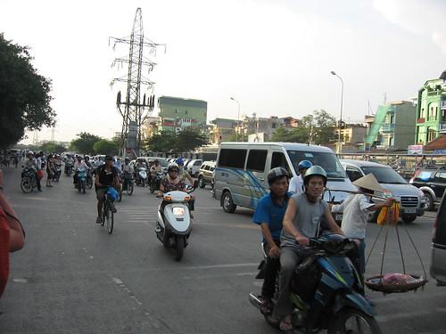 Tráfico en Hanoi