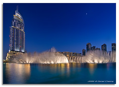 Dancing Fountains (DanielKHC) Tags: blue digital interestingness high nikon dubai dynamic uae explore fountains range dri increase hdr blending d300 dubaimall danielcheong danielkhc theaddress tokina1116mmf28 gettyimagesmeandafrica1
