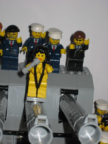 Custom minifig Cher's famous Music Video