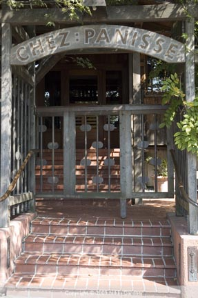 Chez Panisse Entrance