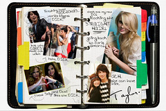 Taylor Swift diary entry (made by me!) ([SCRIBBLESOFLOVE]) Tags: guitar diary taylor swift manip entry fearless teardrops jaylor