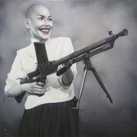 lui fei girl with gun