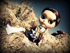 Miranda On The Rocks!