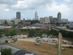 downtown Raleigh includes vacant, developable land (by: Kevin Oliver, creative commons license)