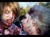 And their eyes met (Kaj Bjurman) Tags: eos sweden stockholm zombie 5d sverige zombies hdr kaj mkii markii cs4 photomatix zombiewalk bjurman