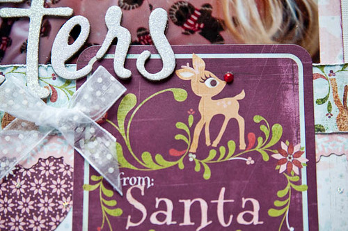 letters from santa - detail
