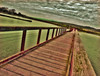 Elk Horn Slough (KarmenRose) Tags: wood santacruz cold water clouds photography bay pier dock nikon photographer elkhornslough karmenrose february09