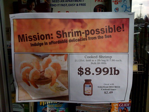 Mission Shrimpossible